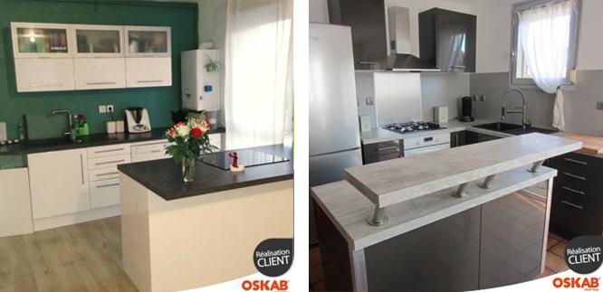 Ilot de cuisine son emplacement central ou semi lot - Ilot central dans petite cuisine ...